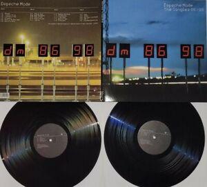 2× Lp VINYL Depeche Mode - The Singles 86-98 / Nirvana The Cure Joy Division