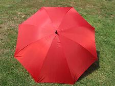 Red Fire Engine Multi-purpose Crossing Guard Safety Golf Umbrella 68 Inch Jumbo