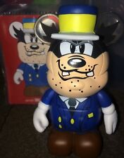 DISNEY VINYLMATION 3'' CHASER CONDUCTOR PETE HAVE A LAUGH WITH HAT AND CARD