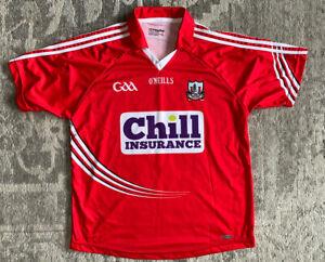 O'NEILLS Cork GAA - Chill Insurance Jersey - 9 LANDON - size Large