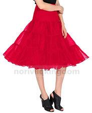 Retro Underskirt 50s Swing Party Petticoat Rockabilly Tutu Dress Net Skirt UK