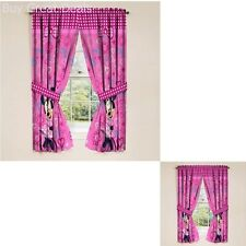 "New Disney Minnie Mouse Window Panels Curtains Drapes Pink Bow-tique 42"" x 63"""