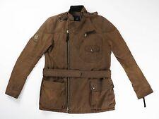 Ralph Lauren Brown Belted Field Rain Jacket Coat Size 4