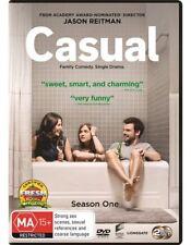 CASUAL SEASON 1 DVD, NEW & SEALED, 2018 RELEASE, REGION 4, FREE POST.