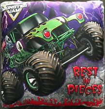 Monster Jam Filled Cushion | Size 42 x 42cm | Polyester / Cotton | Grave Digger