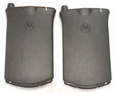 2X Motorola Startac Back St 3000 Analog Cover Case Hole Antenna Door ORIGINAL