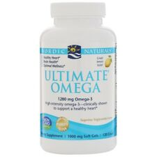 NORDIC NATURALS ULTIMATE OMEGA 3 BRAIN FISH OIL HEALTHY HEART HEALTH 120 CAPS