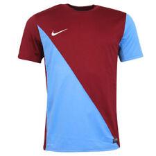 Magliette da uomo blu Nike in poliestere