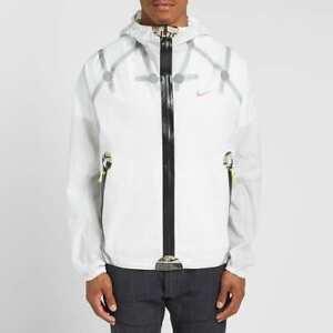 NEW Nike ISPA Mens Jacket White Size Medium M HyperShield LightweightCJ4570-100