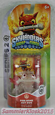Crystal Clear Fire Bone Hot Dog - Skylanders Swap Force Figur red exclusiv RAR