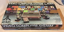 Atari 2600 Woodgrain Console Launch Edition 17 games and Controllers NTSC E.T.