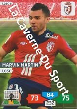 LOSC-08 MARVIN MARTIN # LILLE CARD ADRENALYN FOOT 2014 PANINI