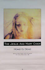 Jesus And Mary Chain 1992 Honey's Dead Lollapalooza Original Promo Poster