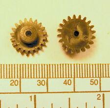 Gear - 2mm bore - 14mm diameter x 9,5mm long - 20 teeth - black nylon66