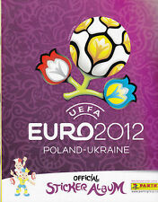 Panini Euro 2012 FIFA, EM, Polen Ukraine, 12 Stück aussuchen Deutsche Version