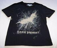 Batman The Dark Knight Rises Logo Mens Black Printed T Shirt Size XL New