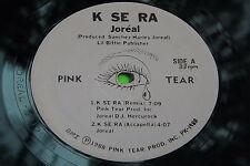 Hear Rare Private Electro Boogie Funk : K Se Ra ~ Joreal ~ Pink Tear 1988