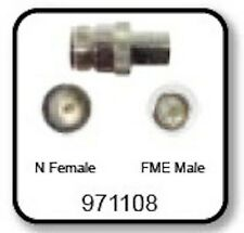 Wilson 971108 N Female - FME Male Connector Adapter