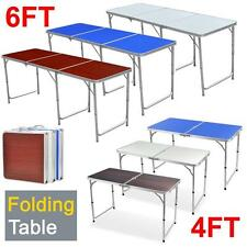 4FT/6FT Aluminum Portable Folding Table Dining Party Camping BBQ Picnic Table