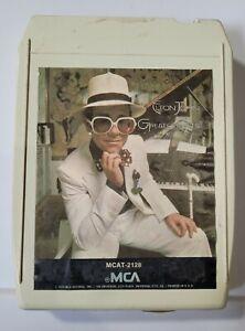 Vintage 8 Track Tape - 1974 Elton John Greatest Hits