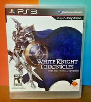 White Knight Chronicles - Sony PlayStation 3 PS3 Game COMPLETE w/ Manual