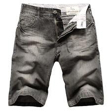 Mens FOXJEANS Denim Men's Black Jeans Shorts Size 40