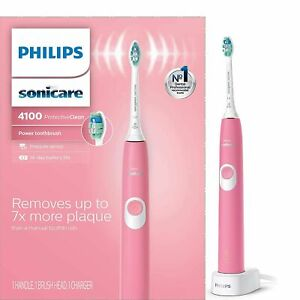 Philips 4100 Electric Toothbrush - Pink