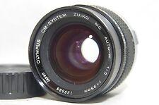 Olympus OM-System Zuiko MC Auto-W 35mm f/2 F2.0 MF Prime Lens SN139588