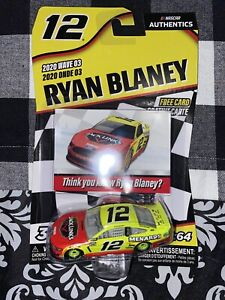 Ryan Blaney #12 NASCAR Authentics 2020 Jack Links Menards Wave 3 1/64 Die-Cast