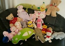 baby toys bundle Mix soft toys. Talking elephant. Crocodiles. Bears. First doll