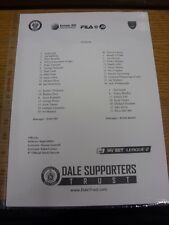 25/03/2014 Teamsheet: Rochdale v Portsmouth  . Thanks for viewing our item, if t