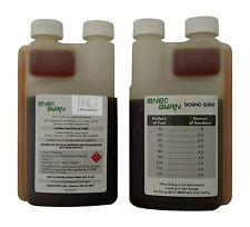EnerBurn diesel fuel combustion catalyst additive & DPF cleaner regen 2 pack