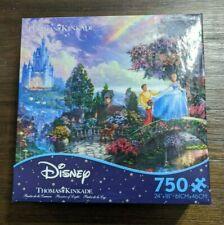 "NIB Puzzle/Thomas Kinkade/Disney ""Cinderella Wishes Upon a Dream/750 Pcs"
