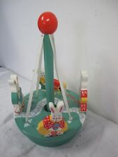 Easter Bunny Rabbits Wood Wooden May Pole Sri Lanka