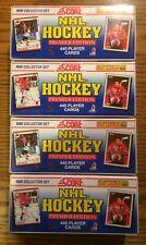 1990-91 Score American Hockey Complete Factory Sealed Set Brodeur RC - 4 Set Lot