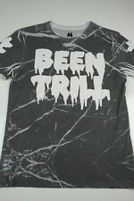 Been Trill Mall Ratz Spell Out T-Shirt Mens Size M Glass Shatter Streetwear S/S