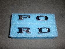 Hood/Grill Letter Emblems 73 74 Ford Galaxie/Custom 500-302/351/400/429/460 PI