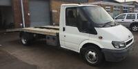 Ford Transit T350 2.4 TD LWB twin axle recovery truck 2002 125BHP 176K