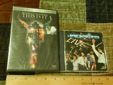Michael Jackson's ~ This is It (2-Disc DVD) + The Jacksons LIVE (CD, 1981) LOT