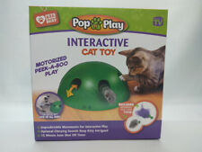 Allstar Innovations Pop N Play Cat Toy Mechanical Interactive Toy