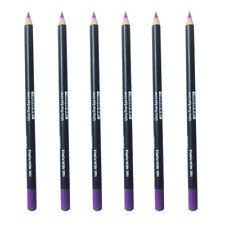 """Italia Eyeliner Pencil  Neon Purple 6pcs  Creamy  Vivid Color 7"""" w/ sharpener"""