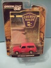1978 Dodge Ramcharger Ridley township police County Road series 3 by GreenLight