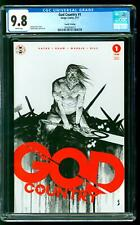 God Country 1 CGC 9.8 NM/M Donny Cates story Geoff Shaw cover 4th Print Variant