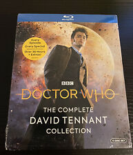 NEW Doctor Who The Complete David Tennant Collection (Blu-ray 14 Disc Set, BBC)