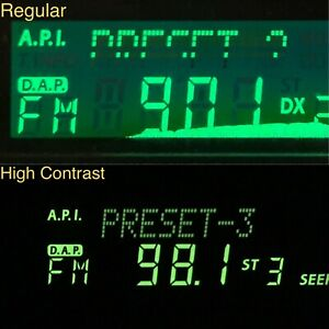 Alpine 7618R  High-contrast LCD Display. 65T35501W01