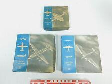 BA40-0,5# 3x Wiking 1:200 Leerkarton: Junkers Ju 52+Vickers Viscount+Canberra