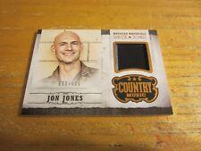 Jon Jones 2015 Country Music Musician Materials #6 #'d 099/499 Relic Card