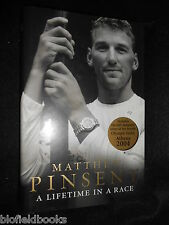 SIGNED: Matthew Pinsent - A Lifetime in Race - 2004 (2nd) - Olympic Gold Rower