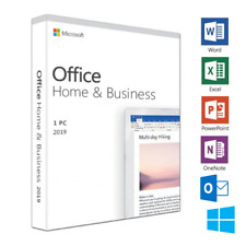 MICROSOFT OFFICE HOME AND BUSINESS 2019 FULL LICENSE NOT 2016