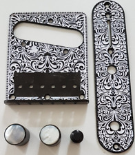 Bridge TELECASTER -Plaque, control plate, knobs - Design - single - guitare TELE